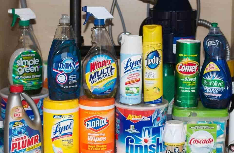 Hóa chất vệ sinh - dịch vụ vệ sinh quận Tân Bình
