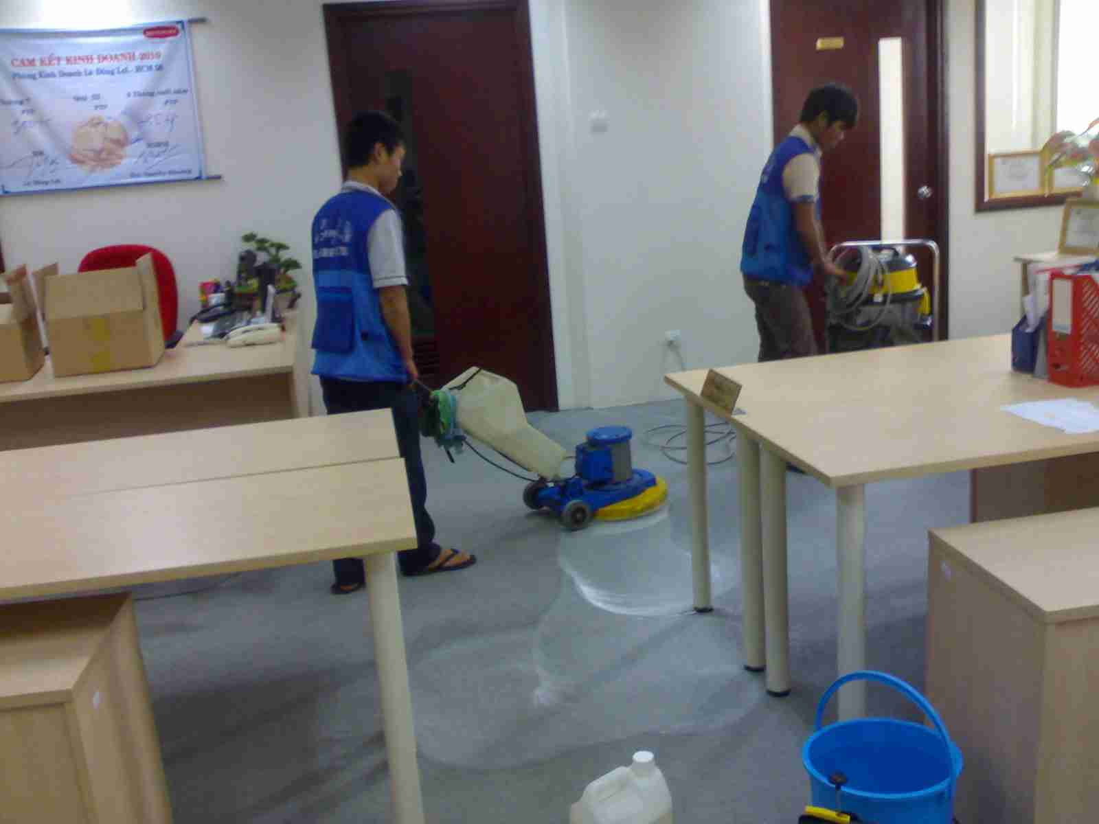 Cam kết vệ sinh sạch sẽ - vesinhnhao24h.vn