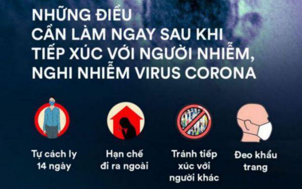 Các biện pháp phòng ngừa virus corona