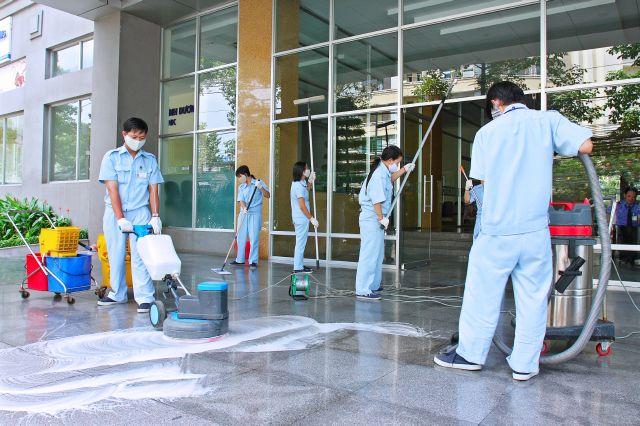 công ty vệ sinh công nghiệp TP. HCM