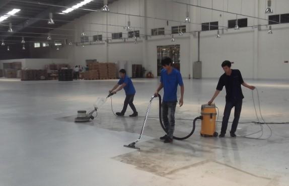 Quy trình đánh sàn xưởng