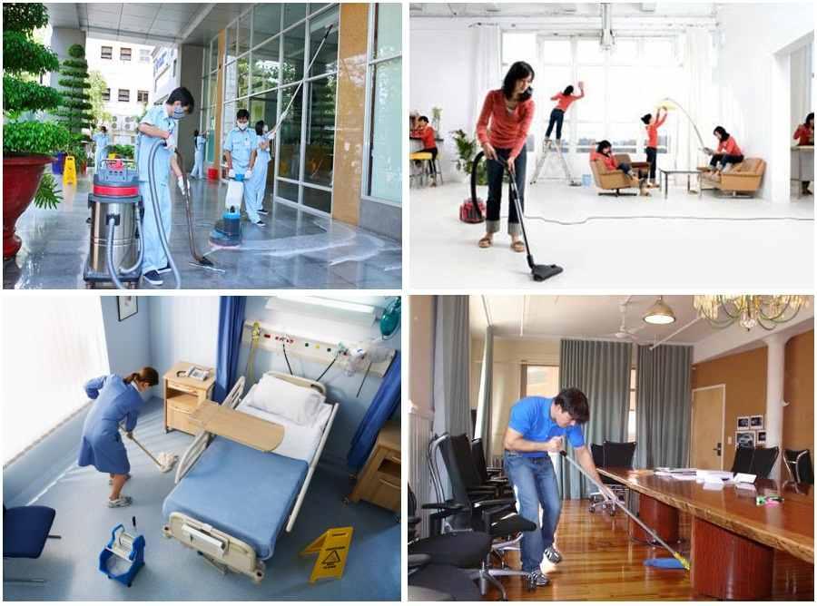 Dịch vụ vệ sinh công nghiệp LONG AN