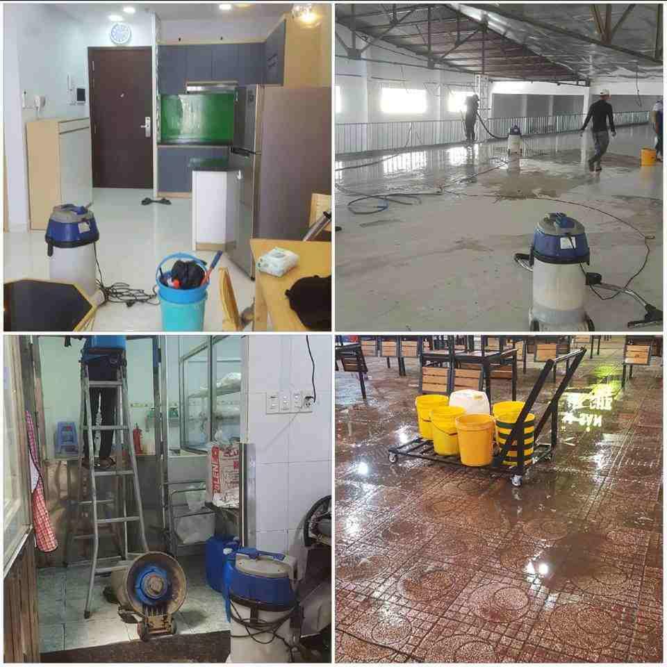 Dịch vụ vệ sinh quận Tân Bình
