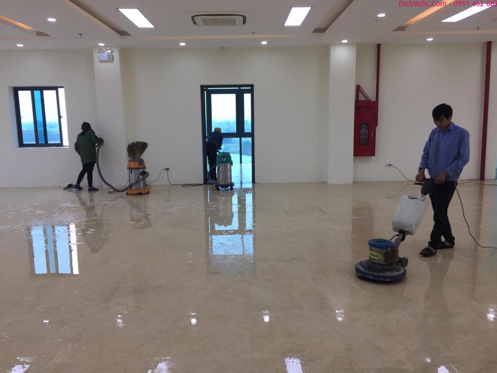 Dịch vụ vệ sinh sau xây dựng uy tín