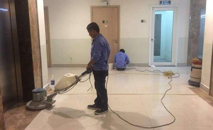 Máy đánh sàn vệ sinh công nghiệp của GIA ĐÌNH