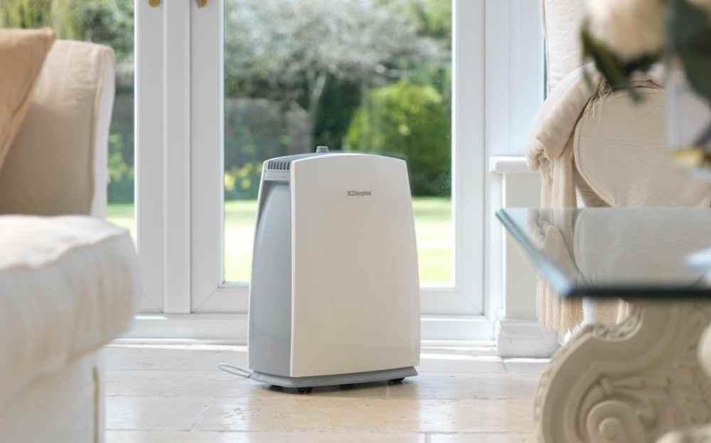 Dùng máy làm sạch không khí để khử mùi
