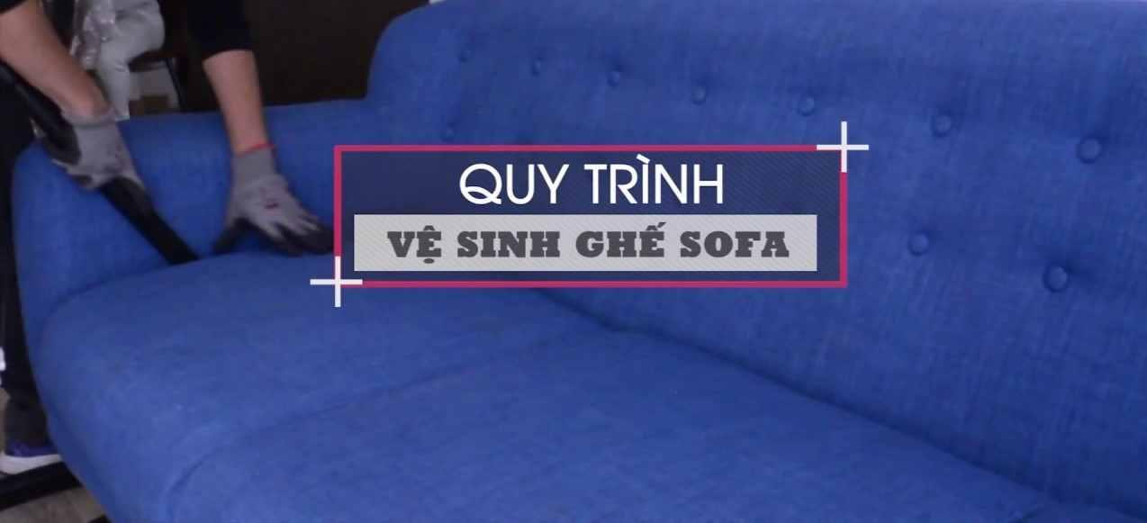 Quy trình vệ sinh ghế sofa tại nhà