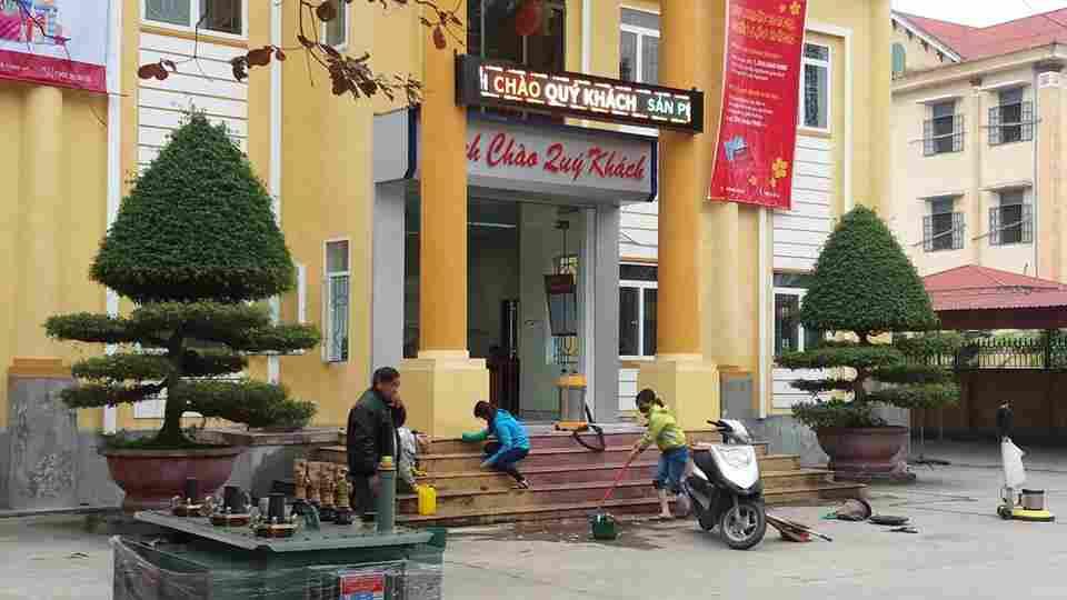 Dịch vụ tổng vệ sinh ngân hàng tại TpHCM
