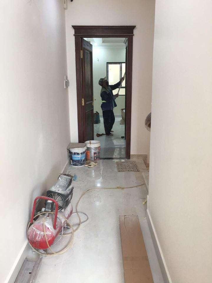 Dịch vụ vệ sinh công trình sau xây dựng uy tín giá rẻ
