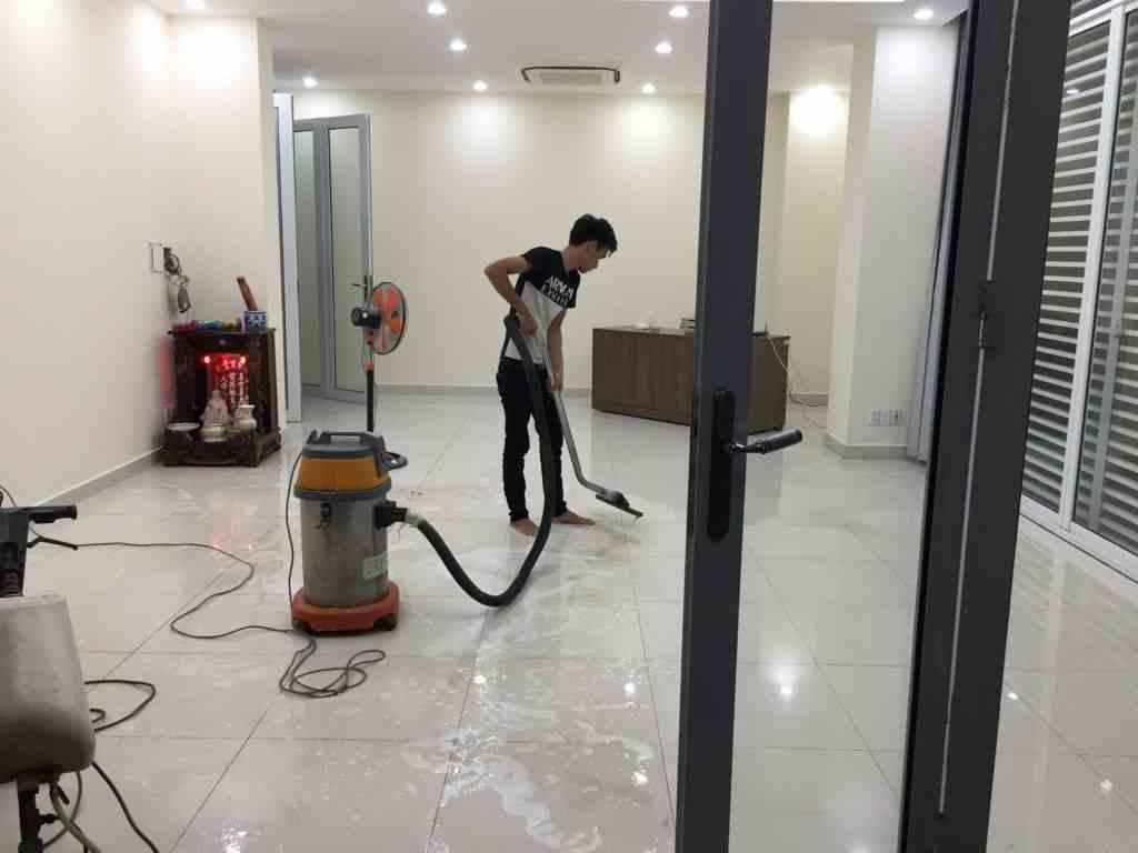 Dịch vụ tổng vệ sinh sau xây dựng uy tín nhất TpHCM - vesinhnhao24h.vn