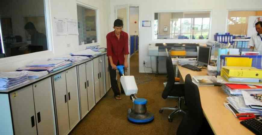 Dịch vụ tổng vệ sinh văn phòng