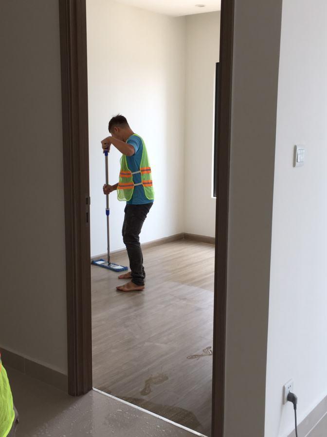 Dịch vụ vệ sinh căn hộ chung cư uy tín