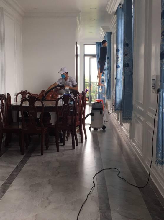 Dịch vụ vệ sinh nhà cửa siêu sạch