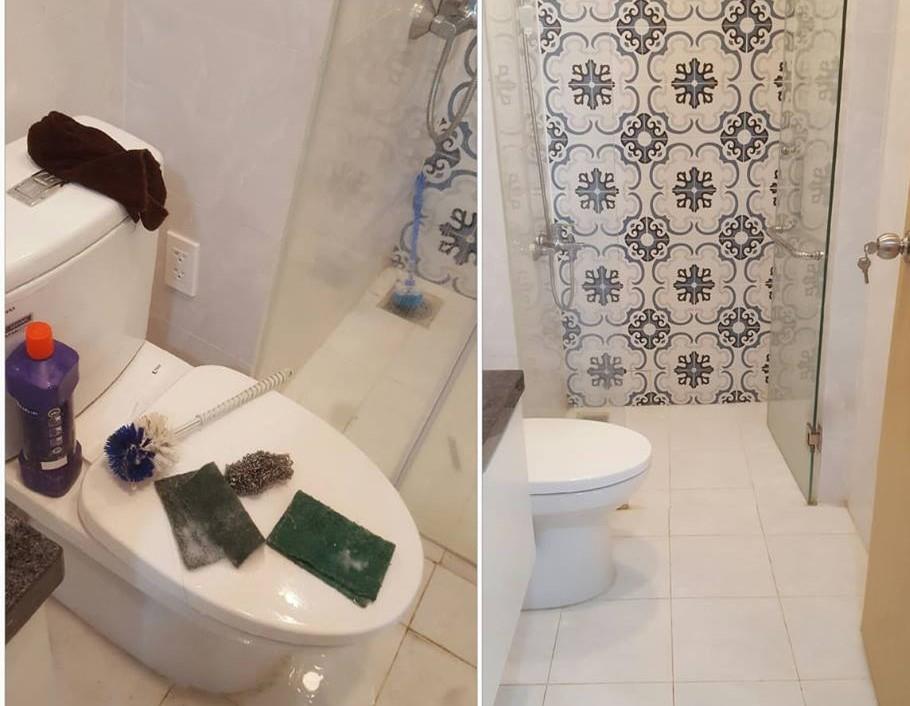 hình ảnh vệ sinh phòng vệ sinh