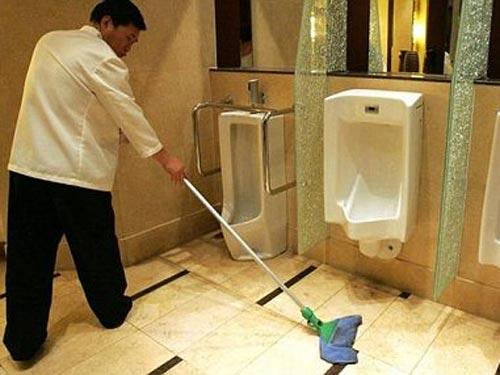 dịch vụ vệ sinh toilet