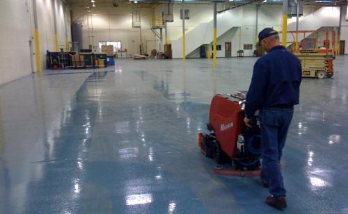 Quy trình vệ sinh sàn nhà xưởng