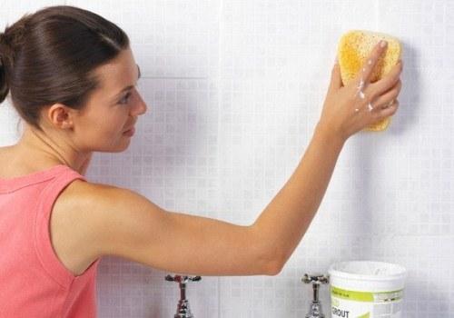 Mẹo vệ sinh tường nhà tắm