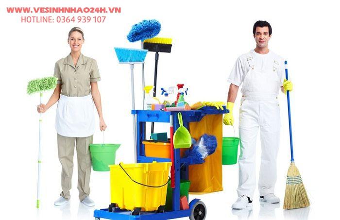 Công ty vệ sinh chuyên nghiệp TP. HCM - Vệ sinh công nghiệp GIA ĐÌNH