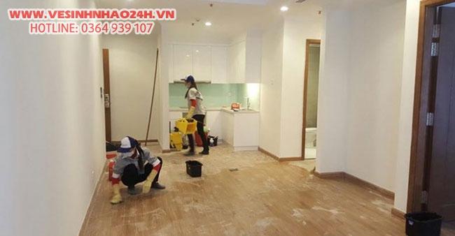 Dịch vụ tổng vệ sinh nhà cửa chuyên nghiệp - Uy tín