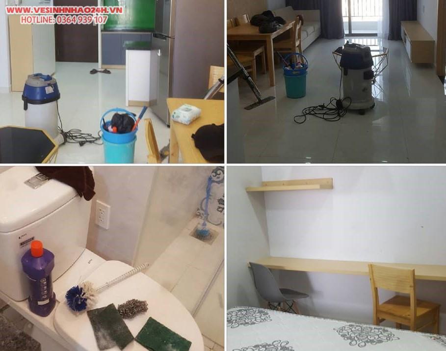 Dịch vụ vệ sinh khu chung cư TP. HCM