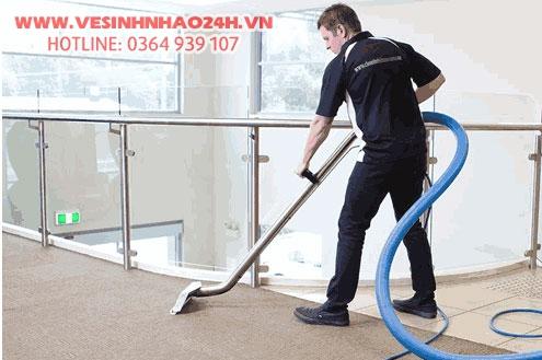 Dịch vụ vệ sinh sau xây dựng chuyên nghiệp TP. HCM trọn gói