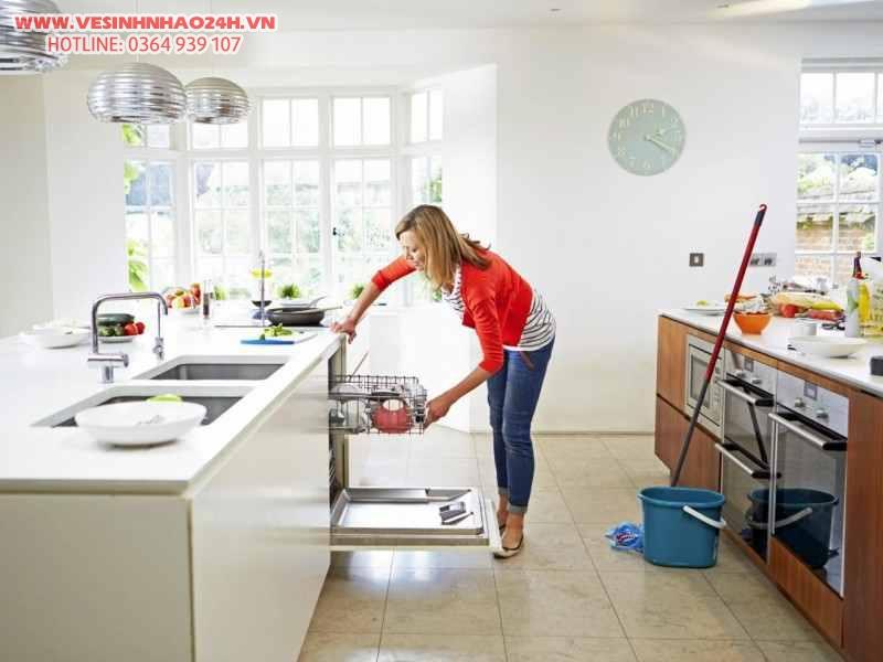 Mẹo vệ sinh nhà bếp sạch sẽ